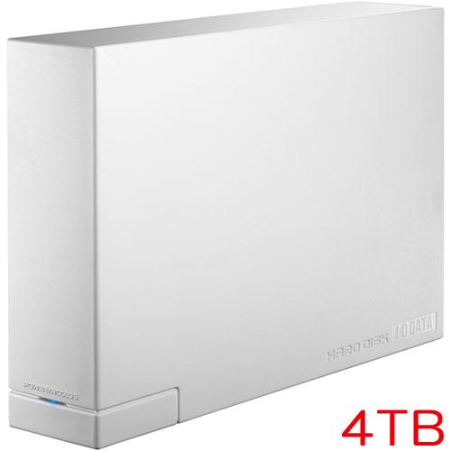 アイオーデータ HDCL-UTE4W [WD製ドライブ USB3.0対応 外付HDD 4TB ホワイト]