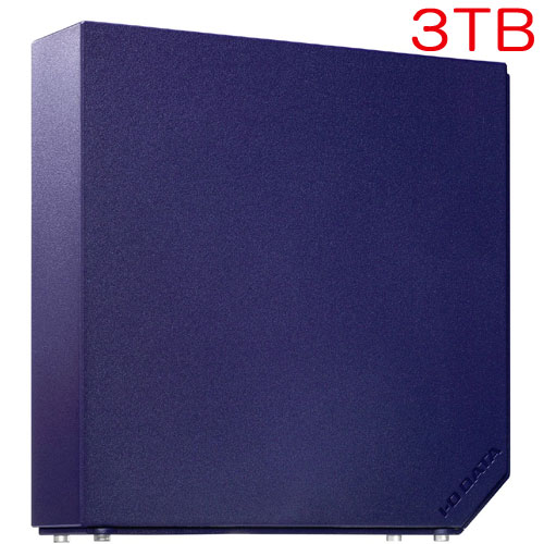 アイオーデータ HDEL-UT3NVB [USB3.0対応 外付HDD 3TB ミレニアム群青]