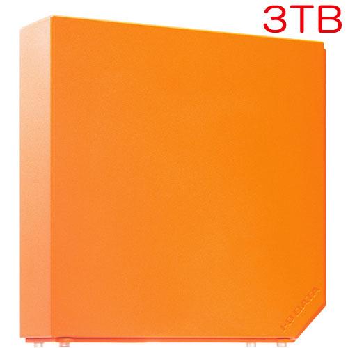 アイオーデータ HDEL-UT3ORB [USB3.0対応 外付HDD 3TB Sunset Orange]