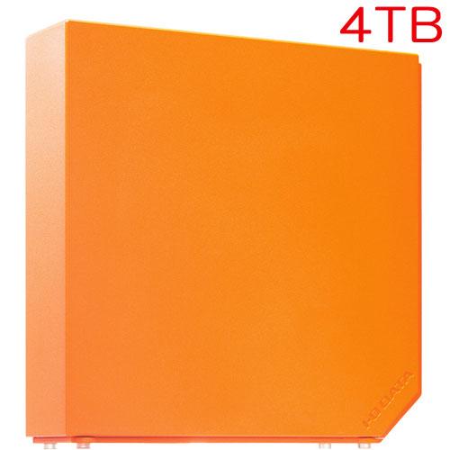アイオーデータ HDEL-UT4ORB [USB3.0対応 外付HDD 4TB Sunset Orange]