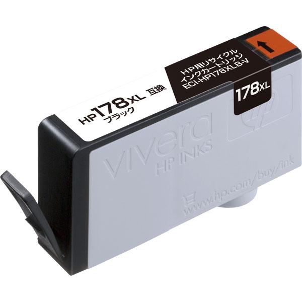 エレコム ECI-HP178XLB-V [リサイクルインク/HP/178XL/CN684HJ互換/ブラック]
