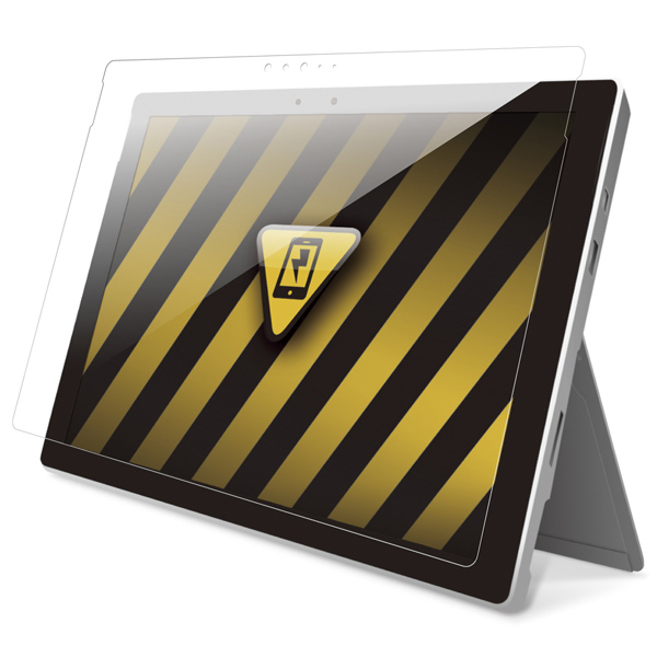 バッファロー(サプライ) BSTPSFP4FASG [Surface Pro 4専用 耐衝撃フィルム 高光沢]