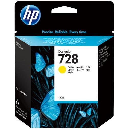 HP F9J61A [HP728インクカートリッジイエロー 40ml]