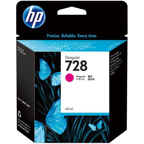 HP F9J62A [HP728インクカートリッジマゼンタ 40ml]