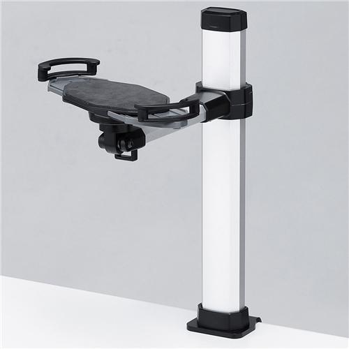 サンワサプライ CR-LATAB19 [7~11インチ対応iPad・タブレットステージ クランプタイプ]