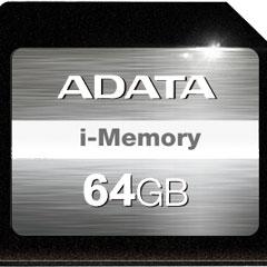 "ADATA ASDX64GAUI3CL10-C [i-Memory Storage Expansion Card for MacBook Air 13"" 64GB SDXCカード]"