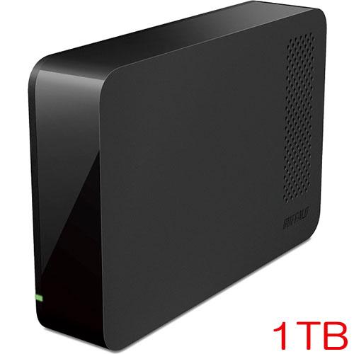 バッファロー DriveStation HD-LC1.0U3-BKE [USB3.0用 外付けHDD 1TB ブラック]