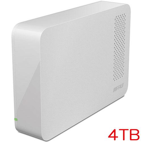 バッファロー DriveStation HD-LC4.0U3-WHE [USB3.0用 外付けHDD 4TB ホワイト]