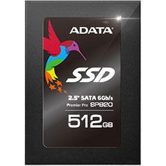 ADATA ASP920SS3-512GM-C [512GB SSD Premier Pro SP920 2.5インチ MLC SATA 6G 7mm]