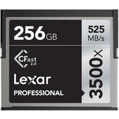 レキサーメディア Professional 3500X CFast LC256CRBJP3500 [Professional 3500x CFast 2.0カード 256GB]