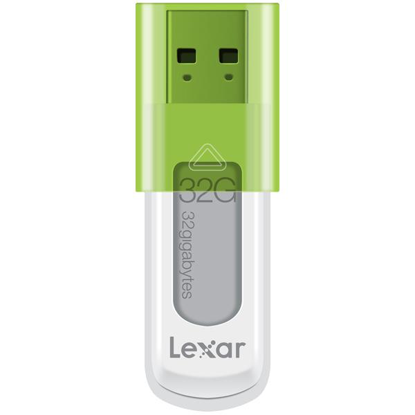レキサーメディア LJDS50-32GABJPR [JumpDrive S50 USBドライブ 32GB Green]