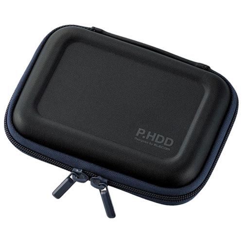 エレコム HDC-SH001BK [ポータブルHDDケース/セミハード/Sサイズ/ブラック]