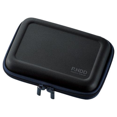 エレコム HDC-SH002BK [ポータブルHDDケース/セミハード/Lサイズ/ブラック]