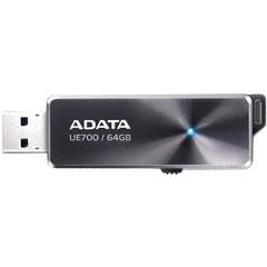 ADATA AUE700-64G-CBK [DashDrive Elite UE700 高速USBメモリ 64GB USB3.0 ブラック]