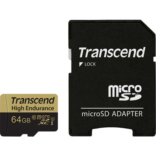 TS64GUSDXC10V [64GB 高耐久microSDXCカード Class 10 MLCフラッシュ搭載]