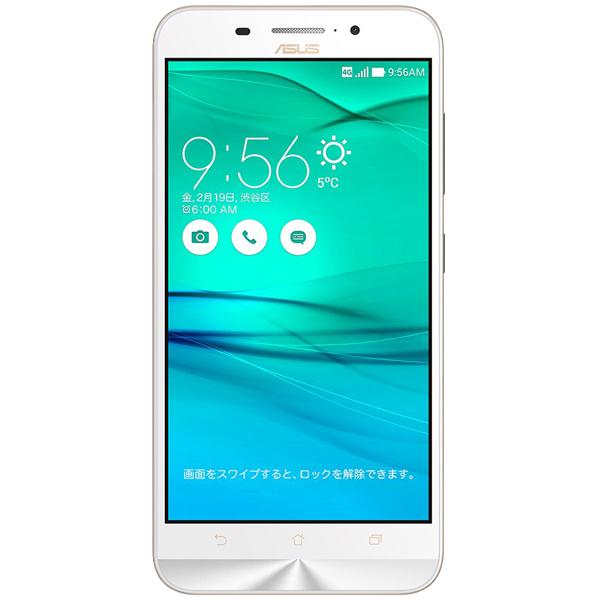 ASUS ZC550KL-WH16 [ZenFone Max (Snapdragon 410) ホワイト]