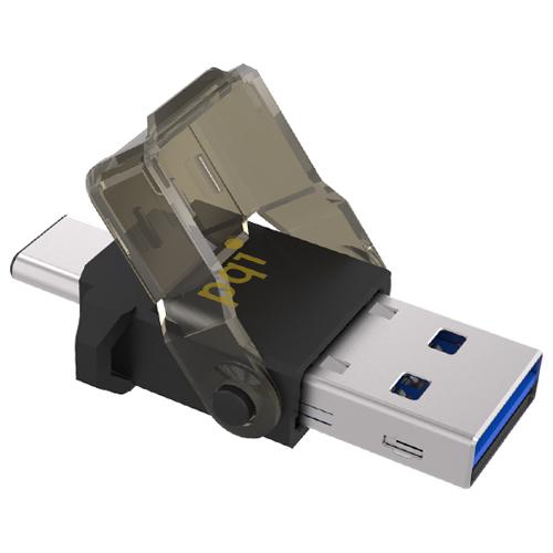 パワーグローバルインデックス UC312VABK [USB3.1用OTGリーダー Connect 312 (ブラック)]