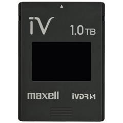 日立マクセル M-VDRS1T.E.BK.K [カセットハードディスク アイヴィ 1TB 簡易パッケージ ブラック]