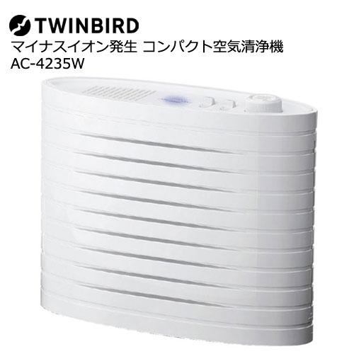 ツインバード AC-4235W [マイナスイオン発生空気清浄機ファンディスタイル]