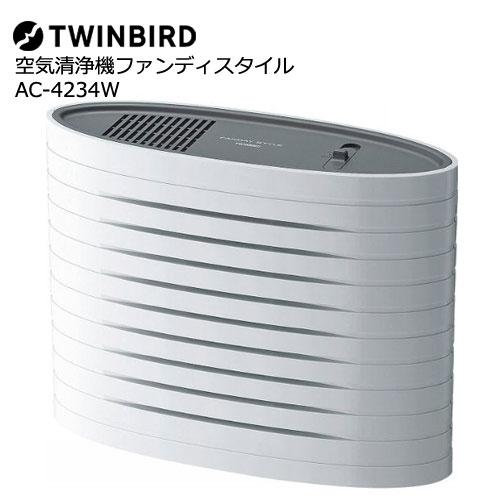 ツインバード AC-4234W [空気清浄機ファンディスタイル]