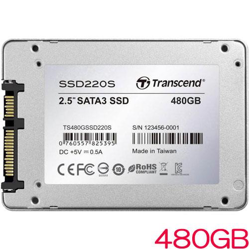 TS480GSSD220S [480GB SSD220Sシリーズ 2.5インチ SATA3 TLC搭載 アルミ筐体]
