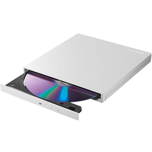 アイオーデータ EX-DVD04 EX-DVD04W [USB 3.0/2.0 バスパワー対応ポータブルDVDドライブ パールホワイト]