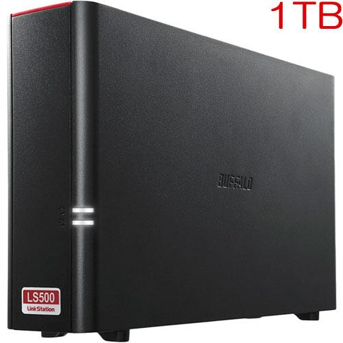 バッファロー LinkStation LS510D0101 [NAS 1ドライブ デュアルコアCPU 1TB]