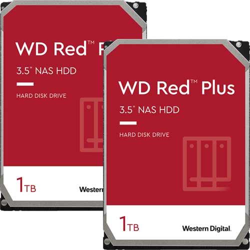★お得な2台セット★WD10EFRX [WD Red(1TB 3.5インチ SATA 6G 5400rpm 64MB)]