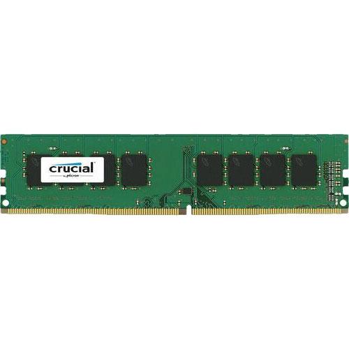 クルーシャル CT16G4DFD824A [16GB DDR4 2400 MT/s (PC4-19200) CL17 DR x8 Unbuffered DIMM 288pin]