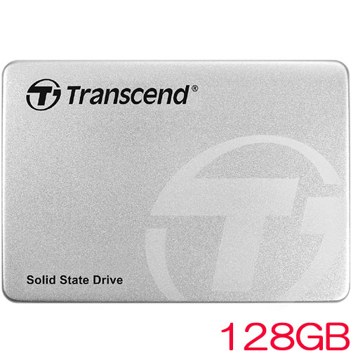 トランセンド TS128GSSD360S [128GB SSD360Sシリーズ 2.5インチ SATA3 MLC搭載 アルミ筐体]
