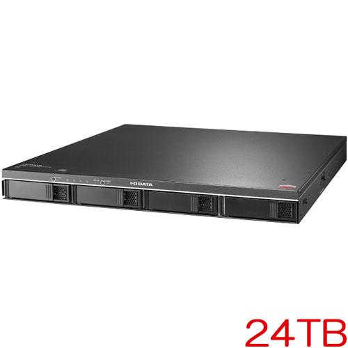 アイオーデータ ZHD4-UTXR ZHD4-UTX24R [19インチラックマウント型4ドライブ外付HDD 24TB]