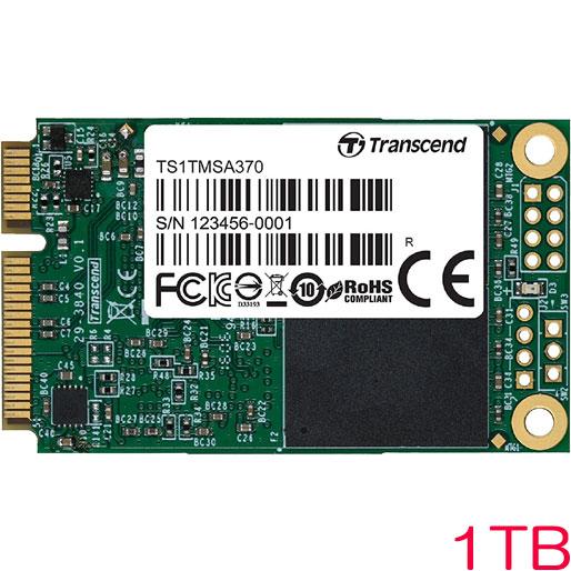 トランセンド TS1TMSA370 [SATA-III 6Gb/s MSA370 mSATA (Premium) 1TB SSD]