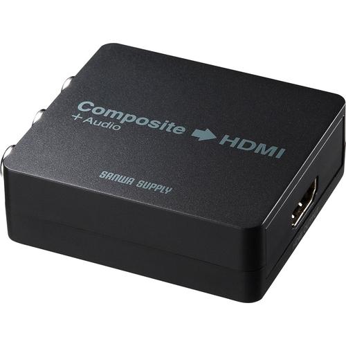サンワサプライ VGA-CVHD4 [コンポジット信号HDMI変換コンバータ]