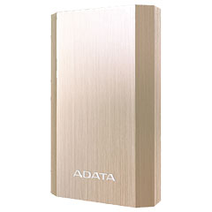 ADATA AA10050-5V-CGD [Power Bank A10050 モバイルバッテリ 10050mAh ゴールド]