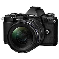 オリンパス OM-D E-M5 MarkII 12-40mm F2.8レンズキット(ブラック)