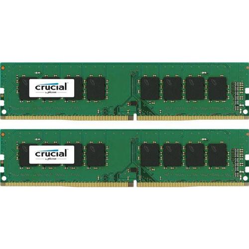 クルーシャル CT2K8G4DFS824A [16GB Kit (8GBx2) DDR4-2400 (PC4-19200) CL17 SR x8 UDIMM 288pin SR]