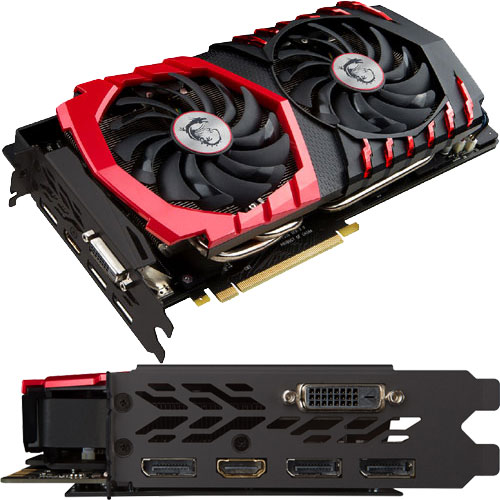 MSI Computer GeForce GTX 1070 GAMING X 8G
