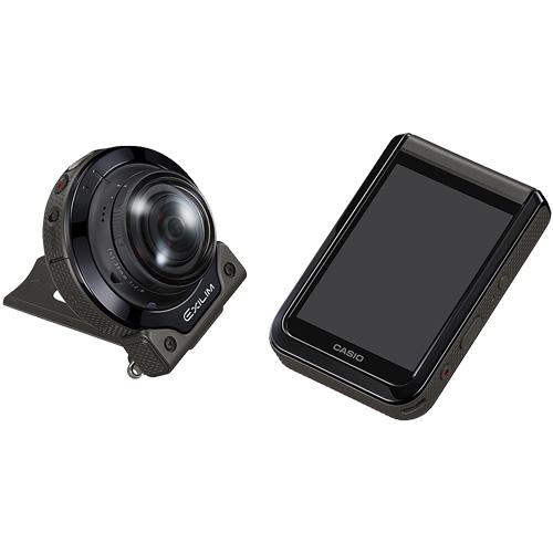★マルチカメラマウンター付★EXILIM EX-FR200BK ブラック & EAM-8