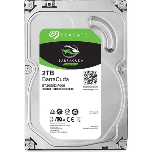 ST2000DM006 [BarraCuda(2TB 3.5インチ SATA 6G 64MB)]