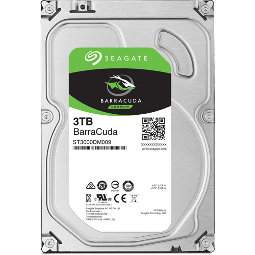ST3000DM008 [BarraCuda(3TB 3.5インチ SATA 6G 64MB)]