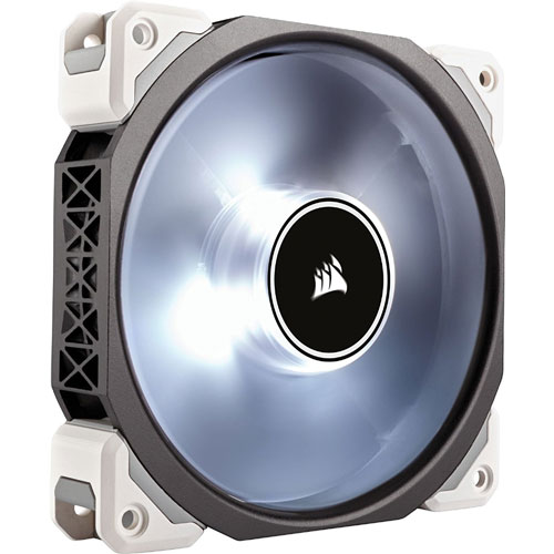 コルセア CO-9050046-WW [ケースファン ML140 PRO LED Premium Magnetic Levitation Fan 140mm ホワイト]