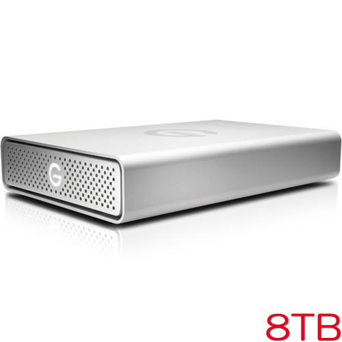 G-Technology 0G03909 [G-DRIVE USB G1 8TB Silver JP]