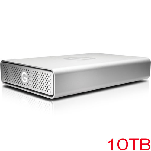 G-Technology 0G05019 [G-DRIVE USB G1 10TB Silver JP]