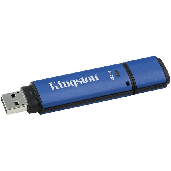 キングストン Kingston DataTraveler Vault Privacy 3.0 DTVP30DM/4GB [DataTraveler Vault Privacy 3.0 4GB DM]