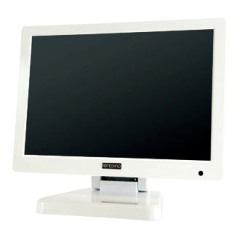 エーディテクノ LCD7620W ホワイト [7型 IPS液晶パネル搭載 業務用マルチメディアディスプレイ]