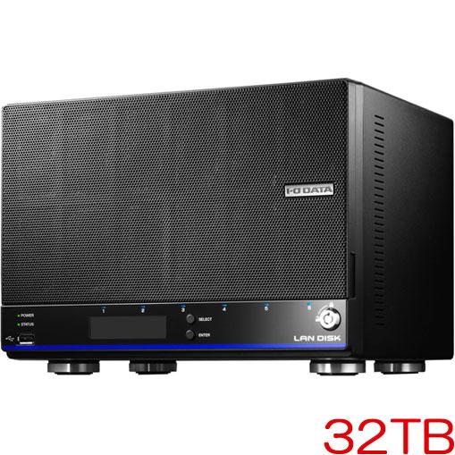HDL4-HEX HDL4-H32EX [「拡張ボリューム」採用 4ドライブビジネスNAS 32TB]