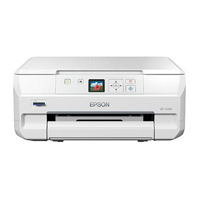 エプソン Colorio EP-709A [A4IJプリンター/WLAN/Wi-Fi Direct/スマホ/1.44型]