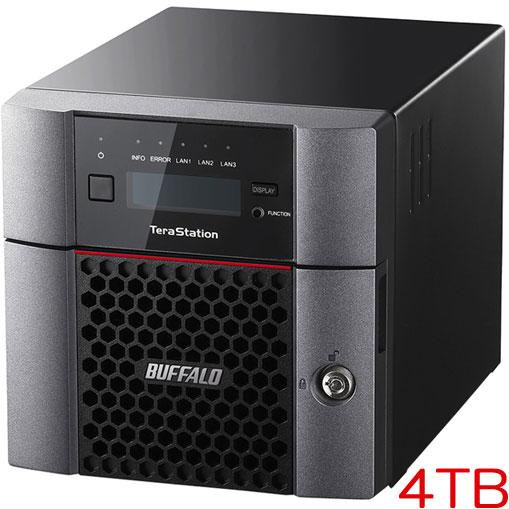 TeraStation TS5210DN0402 [10GbE 法人向け 2ドライブNAS 4TB]