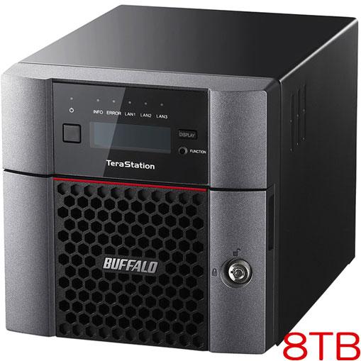 バッファロー TeraStation TS5210DN0802 [10GbE 法人向け 2ドライブNAS 8TB]