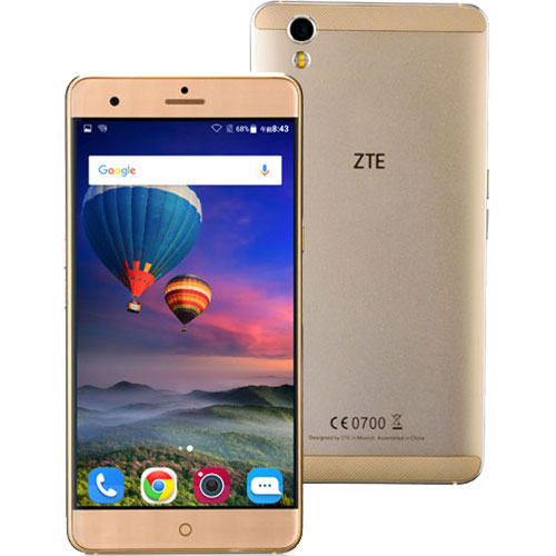 ZTE ★音声SIM申込書付!★Blade V7 Max/Gold [MTK6755M  Octa-core 3GB 32GB 5.5 約167g]